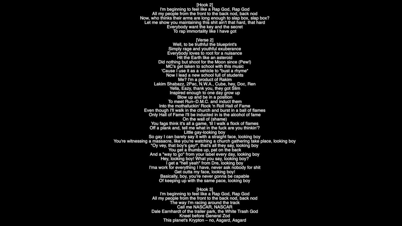 Full lyrics rap god eminem produced by dvlp album the marshall full lyrics rap god eminem produced by dvlp album the marshall mathers lp 2 malvernweather Gallery