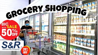 GROCERY SHOPPING VLOG S&R - Daming Sale + Fresh Meat 😱 🛒🛍