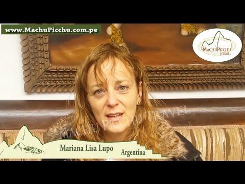 Mariana Lisa Lupo, turista argentina conoció Perú con la agencia de viajes Machu Picchu Travel