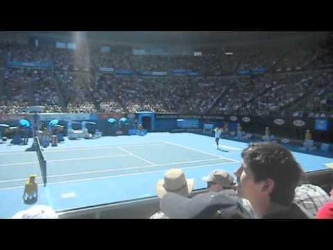 Roger Federer versus Tommy Robredo Australian Open 2011