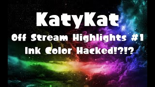 Off Stream Highlights #1    My game got color hacked in splatoon!?!?