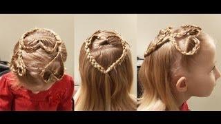 Triple Heart Braid // Fun Cute Hairstyle
