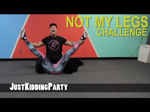 Not My Legs Challenge thumbnail