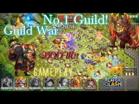 Castle Clash- Mino Smashing Top 1 Guild ( Tencent Server)