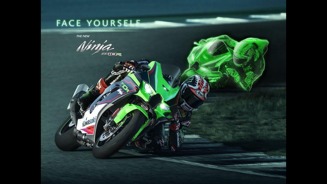 New 2021 Kawasaki Ninja ZX-10R | #FaceYourself with Jonathan Rea official Action video