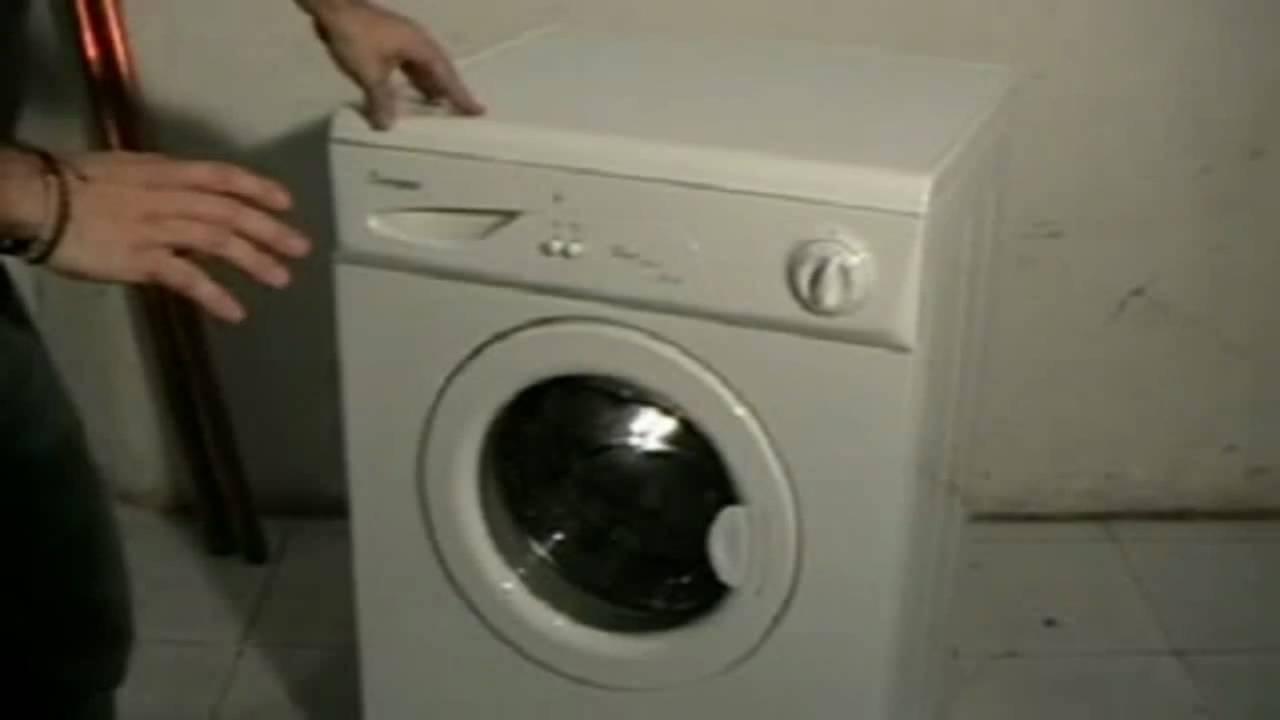Tutorial de las partes de una lavadora doovi for Como reparar una lavadora