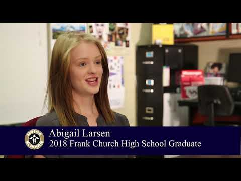Meet Frank Church High School 2018 Graduate Abigail Larsen