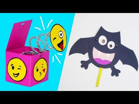 8 FUNNY PAPER CRAFT IDEAS TO TRY NOW | 8 FUNNY IDEAS TO TRY NOW