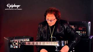 The Epiphone Ltd. Ed. Tony Iommi Signature SG
