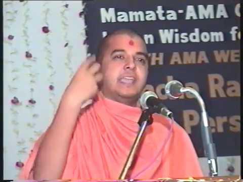 Inspirational Speech | The Wonders of Attitude by Swami Brahmavihari Das
