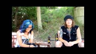 Asking Alexandria Interview @ Mayhem Festival, 7/25/12- Cuyahoga Falls, Oh [LEGENDADO]