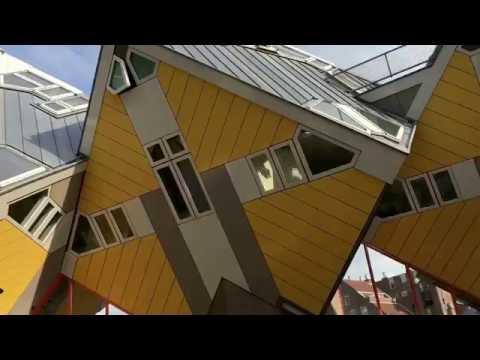 Kubuswohnungen in Rotterdam auf AIDA prima Kreuzfahrt