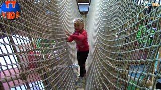 Детский Развлекательный Центр с Лабиринтами и Горками Kid's Intertainment Center