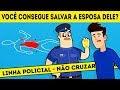 10 CHARADAS DE CRIMES PARA CONFERIR SE VOCÊ PODE SE JUNTAR ÀS FORÇAS POLICIAIS