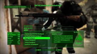 Fallout 4 Weapon Mods: Modern Firearms Temporary