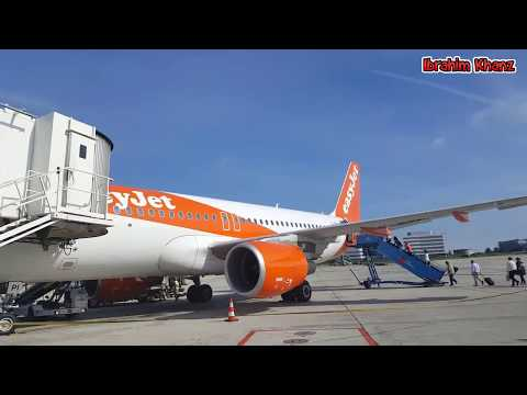 Easy Jet  | Economy Class | Paris to Manchester | Flight Rep
