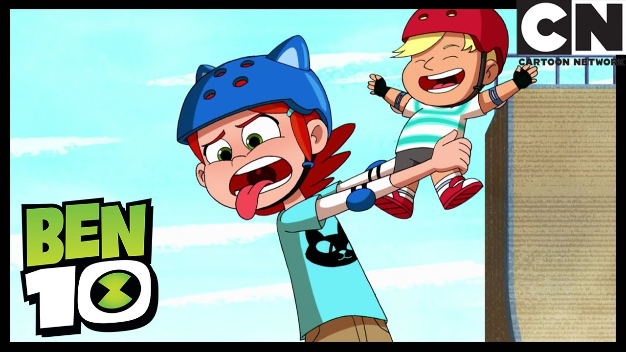 Nanny Nightmare and the Skater Kids | Growing Up is Hard to Do | Ben 10 | Cartoon Network