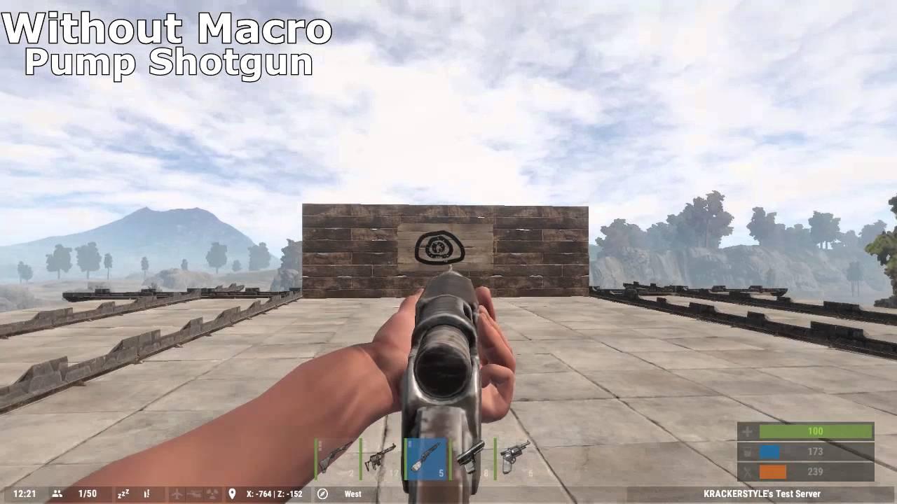 Razer rapid fire macro