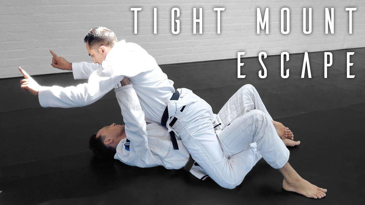 How to Escape a Tight Full Mount | Jiu Jitsu Private Lesson Excerpt |  Holland 2019