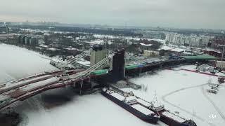 Строительство моста через о.Серный