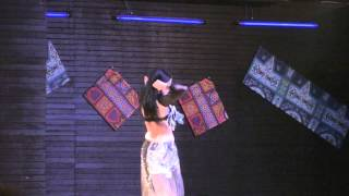 Amwaj Blue Beach Resort & Spa - July 2014 - Belly Dance 2 Thumbnail