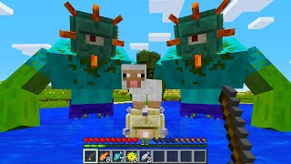 CURSED MINECRAFT BUT IT'S UNLUCKY LUCKY FUNNY MOMENTS PART 7