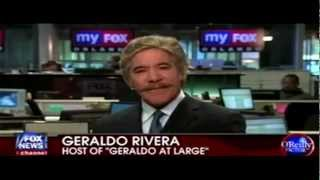 Geraldo Rivera Threatens To Give  Bernie Goldberg A Bloody Nose