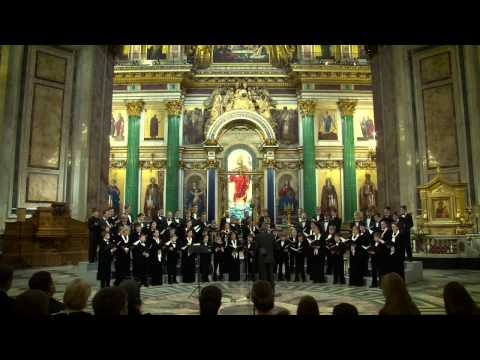 ЗА НЕДЕЛЮ ДО ВОСКРЕСЕНИЯ концерт в Исаакиевском соборе