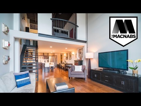 SOLD #406 272 East 4th, The MECCA  2 bed, 2 bath, Double Height Loft, Vancouver BC - THE MACNABS