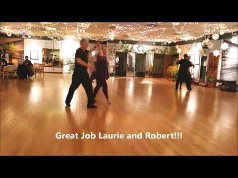 Laurie Knapp Dances Foxtrot with Robert Moran