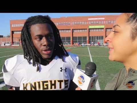 Eagle Academy vs Madison PSAL Playoffs NYC Football November 13 2016