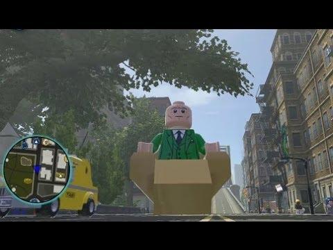LEGO Marvel Super Heroes - Unlocking Professor X + Gamelay (All Professor X Missions)