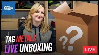 Unboxing Tag Metals goodies | LIVE | CRC |