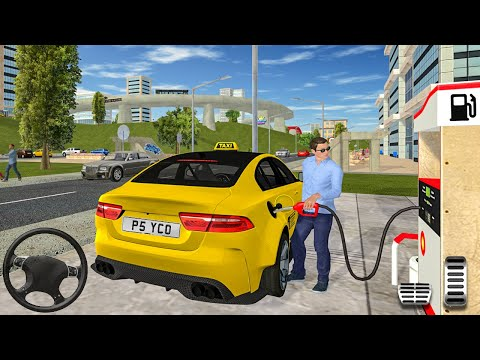 Taxi Game 2 - Cab Car Service Driving Simulator - Android Gameplay