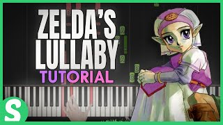 How to Play ZELDA`S LULLABY from LoZ: Ocarina of Time | Smart Game Piano | Video Game Music