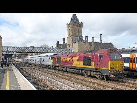 East Coast Main Line Diversions at Lincoln Central - 28th March 2015