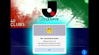 CORRE E GARANTA 50 MOEDAS MY CLUB NO EVENTO J. LEAGUE DP JAPÃO NO PES 2019 MÓBILE