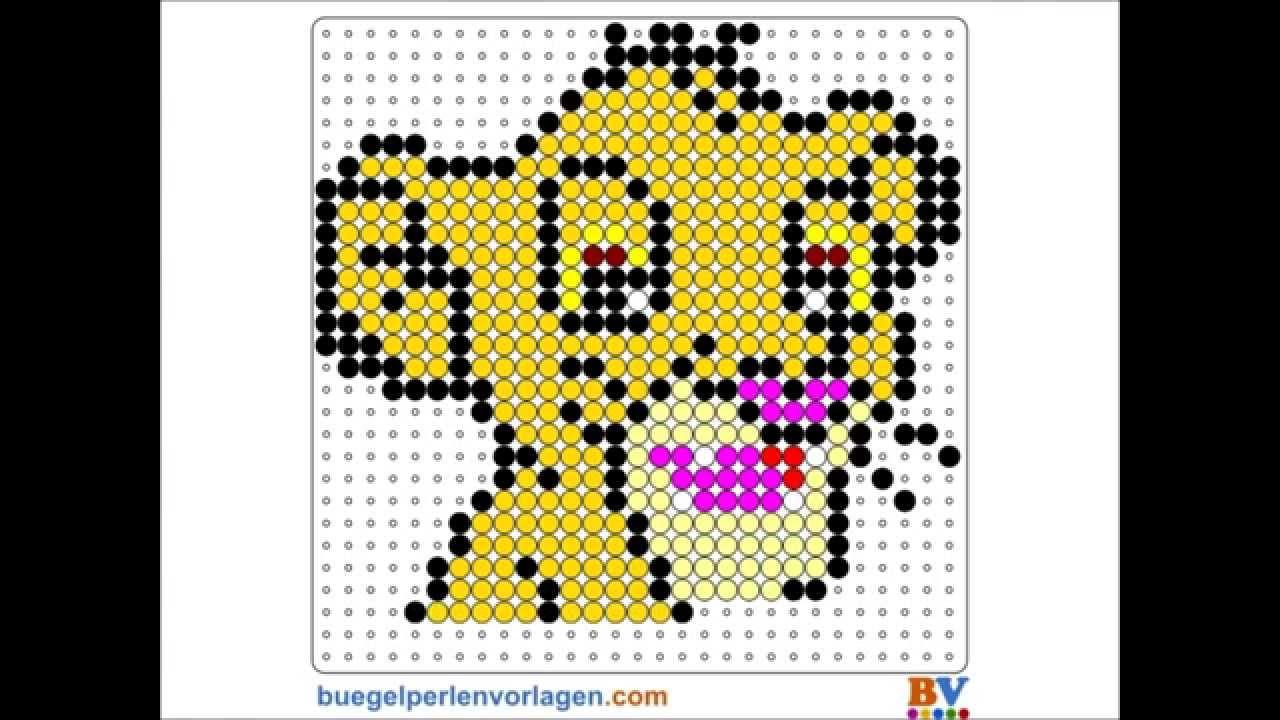 perler beads tutorial 3 simba the lion king youtube. Black Bedroom Furniture Sets. Home Design Ideas