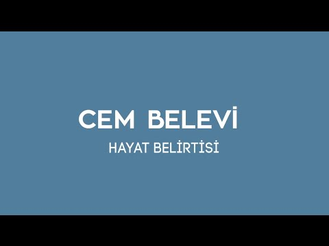 Cem Belevi - Hayat Belirtisi (Lyric Video)