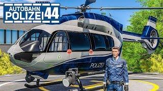 Polizeihubschrauber-Landeplatz freigeschaltet! AUTOBAHNPOLIZEI-SIMULATOR 2 #44 | Police Simulator 2