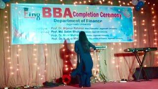 Jagannath University | Finance 8th Batch | Rag Day | Cultural Program | Dance Performance 2