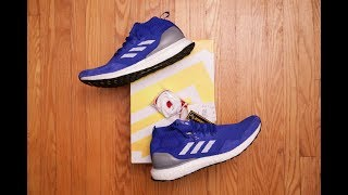 Embrace the Past || Adidas Consortium Ultra Boost Mid Run Thru Time Review and On Feet