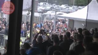 Go Ahead Eagles - De Graafschap ( 0-1 ) 25-5-2015 | Rellen ingang Adelaarshorst