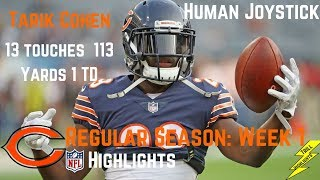 Tarik Cohen Week 1 Regular Season Highlights Explosion | 9/10/2017