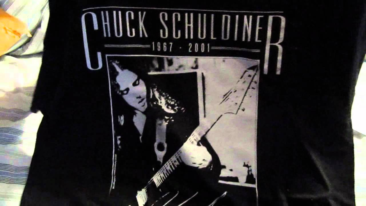 Chuck schuldiner tribute t shirt relapse records youtube chuck schuldiner tribute t shirt relapse records biocorpaavc Choice Image