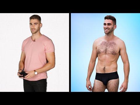 Men Get Styled In Their Perfect Underwear