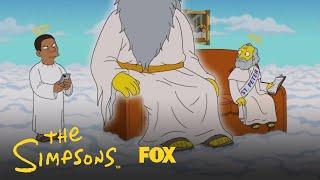 Tracy Morgan Visits Heaven   Season 30 Ep. 3   THE SIMPSONS