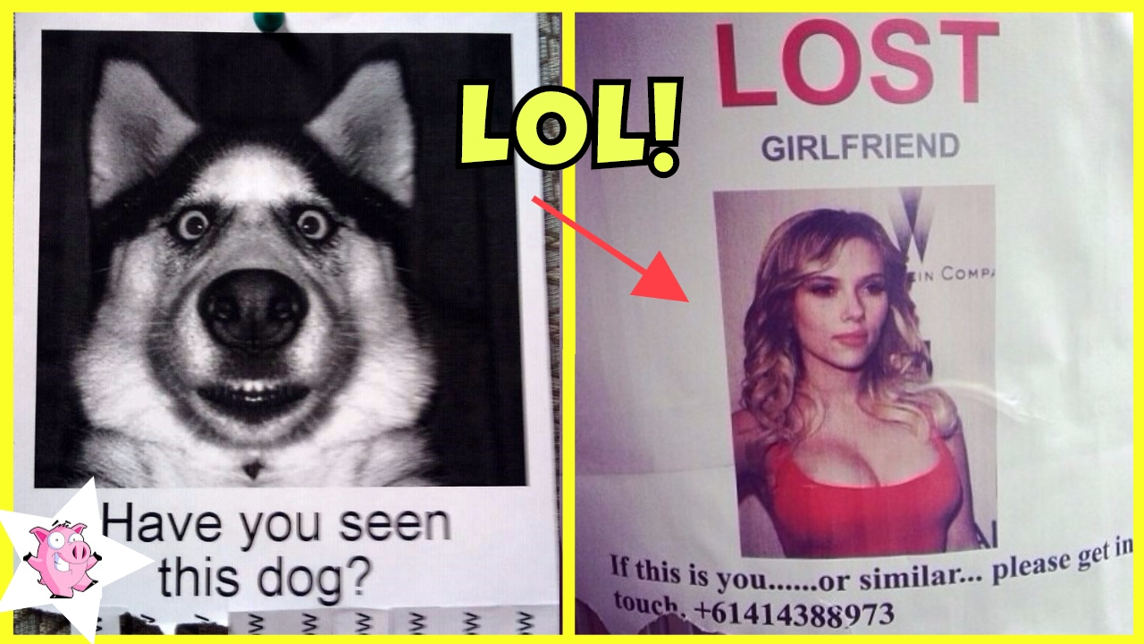 most hilarious missing posters ever funny lost found posters