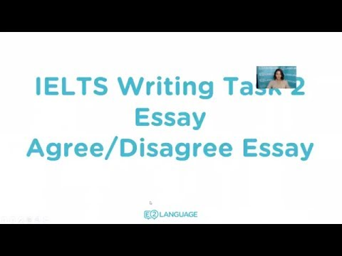 IELTS Writing Task 2: Agree / Disagree Essay | Sentence by Sentence with Jamal!