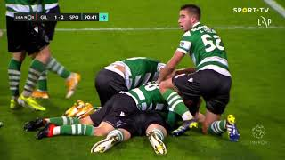 Goal   Golo S. Coates: Gil Vicente 1-(2) Sporting (Liga 20/21 #18)